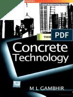Concrete Technology by Gambhir