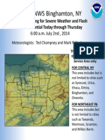 Weather Service Public Briefing 07 02 14