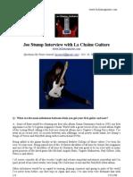 LCG #036 - Joe Stump Interview (by e-mail)