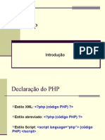 Php Introducao
