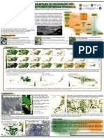 Species distribution models applied to the ecology and conservation of endangered plants (PÓSTER)