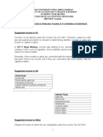T1 - Introduction to Malaysian Tax & Resident Status (a)