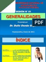 - SESION N° 01 - GENERALIDADES