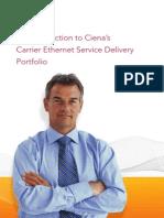 Ciena Carrier Ethernet Service Delivery Portfolio A4 PB