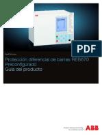 1mrk505182-Bes a Es Proteccion Diferencial de Barras Reb670 Preconfigurado Guia Del Producto