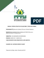 Manual Teórico Práctico de Anatomía y Fisiologia Animal
