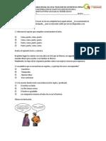 Examen 4 Bloque Español Recuperacion Dora