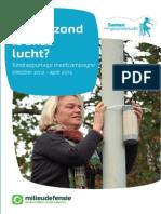 milieudefensie rapport hoe gezond is onze lucht 20140626