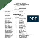 MC List as of 1st June 2014