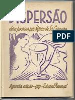 Mário de Sá-Carneiro - Dispersão