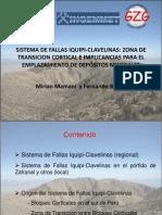 Sistema de Fallas Iquipi-Clavelinas