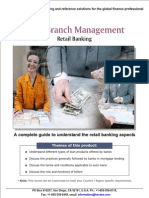 Bank Branch Management Retail Banking