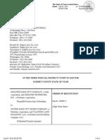 PCMR order of restitution