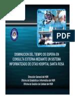 2 Sistema Informatizado de Citas Hospital Santa Rosa