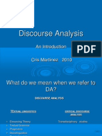 Discourse Analysisintro2010
