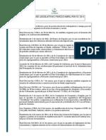 Anb Abogados Novedades Legislativas Marzo, Abril y Mayo 2014