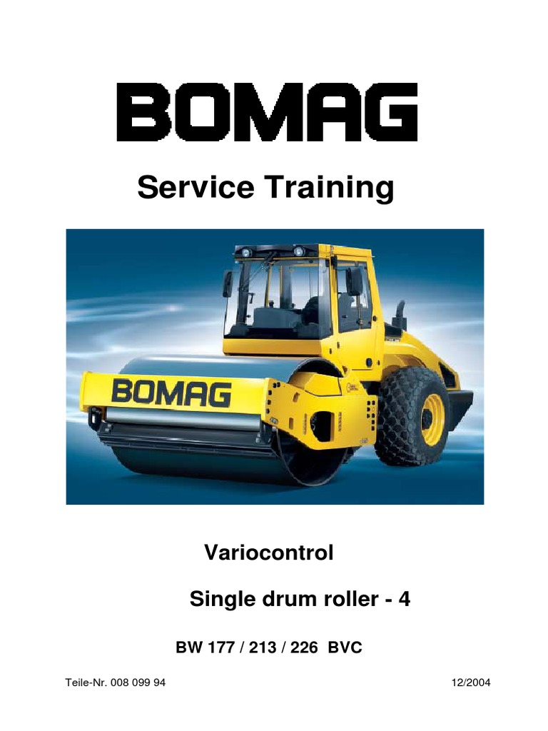 BW177-213-226 Series 4 Service Training | Transmission (Mechanics) | Pump