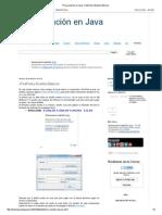 Programación en Java_ JTextField y Eventos Básicos