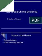 EBM secondary resources