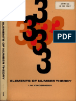 Vinogradov ElementsOfNumberTheory