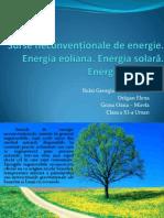 Surse Neconventionale de Energie
