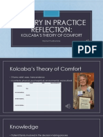 theory in practice reflection