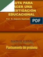 Pauta Investigacion 15 de Marzo de 2012