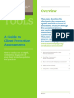 Guide to Client Protection Assessments