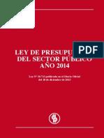 Articles-109104 Ley de Presupuestos 2014