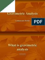 Gravimetric Analysis Preface