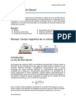 Practica Ley de Biot Savat - Campo de Un Solenoide