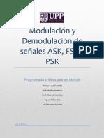 Reporte de Modulacion y Demodulacion