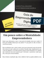 Mentalidadeempreendedora.com.Br Guia Do Empreendedorismo Digital Guia Do Empreendedorismo Digital