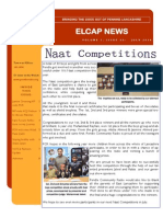 ELCAP E-Newsletter Issue 27 - July 2014