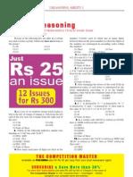 BankofMaharashtraClericalCadreExam-Reasoning
