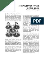 Newsletter No 48