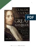 THE GREAT GAMBLER, historical novel