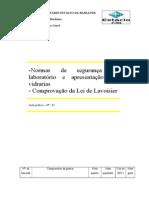 Relatório de Química Geral