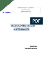 Tecnología de Los Materiales