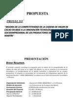 Proyecto AVA-CITEcacao - I