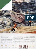 Packard PT Boat motor advertisement