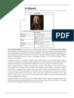 Georg Friedrich Händel - Biografía