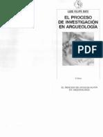 [Luis Felipe Bate] El Proceso de Investigación en Arqueologia