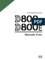 Manuale Nikon D800