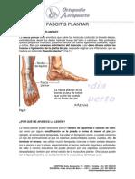 Fascia Plantar