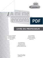 A Mi Me Encanta 2de - Espagnol - Fichier d'Utilisation - Edition 2009