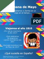 Semana de Mayo (Power Point)