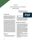 Administracion de Farmacos en La Urgencia Cardiovascular