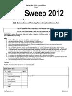 MIndSweep 2.0 Part II Answers
