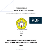 Aspek Sosbud Dan Gender